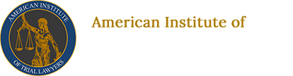 American Institute of Trial Lawyers footer logo